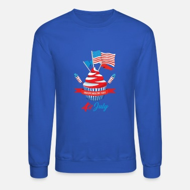 4th Of July 4th of july - Unisex Crewneck Sweatshirt
