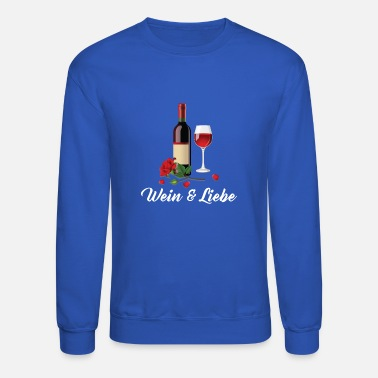 Red Wine Wine & Love - Red Wine - Crewneck Sweatshirt
