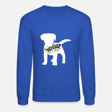 Shelter Dogs from the shelter animal rescuer - Unisex Crewneck Sweatshirt
