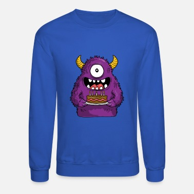 monster birthday - Unisex Crewneck Sweatshirt