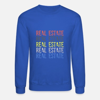 Real REAL ESTATE RETRO - Unisex Crewneck Sweatshirt