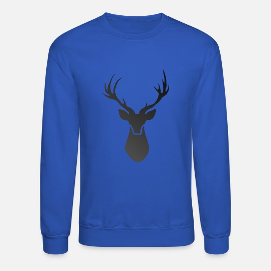 Stag Hoodies & Sweatshirts - Deer - Unisex Crewneck Sweatshirt royal blue