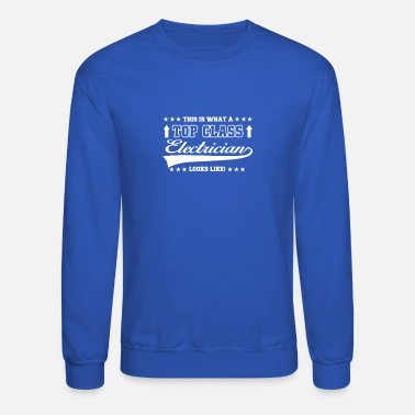 This Is What this is what electrician - Unisex Crewneck Sweatshirt