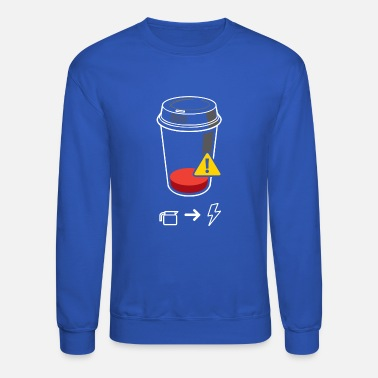 Require Refill Required - Unisex Crewneck Sweatshirt