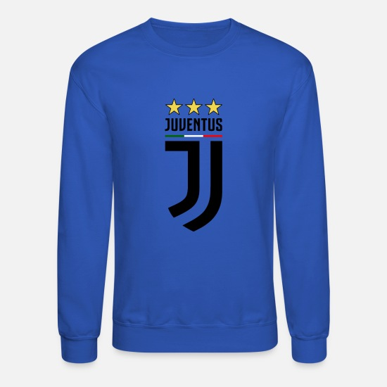 Juventus Hoodies & Sweatshirts - juventus new logo - Unisex Crewneck Sweatshirt royal blue
