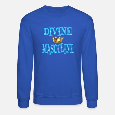 Couple Marriage Spiritual Divine Masculine - Unisex Crewneck Sweatshirt