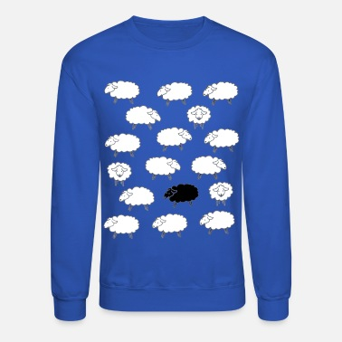 Black Sheep BLACK AND WHITE SHEEP - Crewneck Sweatshirt