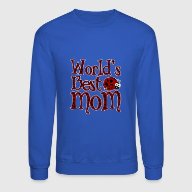 World's BestMom Ladybugs - Crewneck Sweatshirt