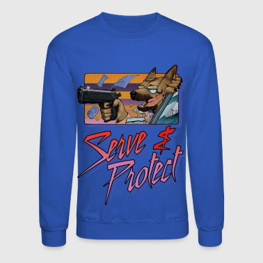 Gun Dog - Serve and Protect - Crewneck Sweatshirt