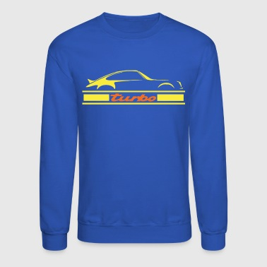 turbo air cooled engine - Crewneck Sweatshirt
