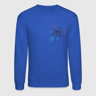 geometric flower - Crewneck Sweatshirt