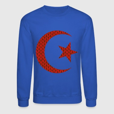 Star and crescent - Crewneck Sweatshirt