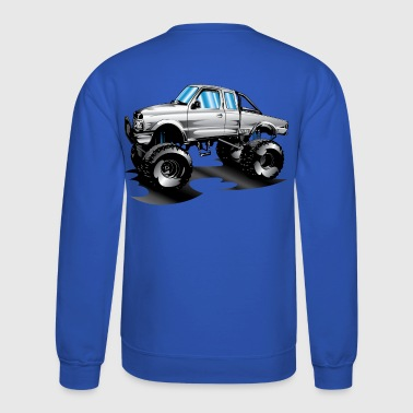 Lifted 4x4 Ford Truck - Crewneck Sweatshirt