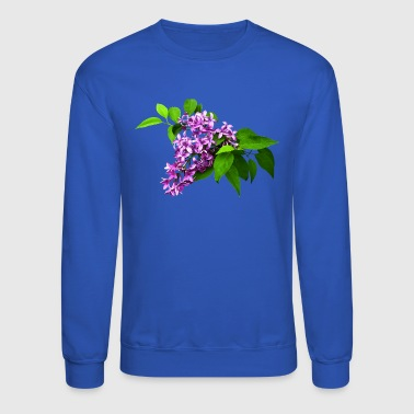 Lilacs and Leaves - Crewneck Sweatshirt