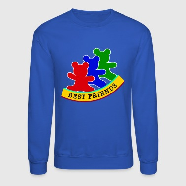 best friends / friends - Crewneck Sweatshirt