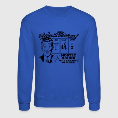 weekend forecast - Crewneck Sweatshirt