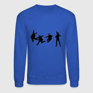 beatles jump - Crewneck Sweatshirt