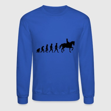 Evolution Horses Riding Harness Racing Equitation - Crewneck Sweatshirt
