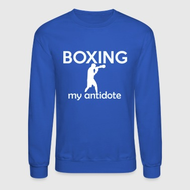 Kick boxing design - Crewneck Sweatshirt
