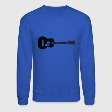 Music kills Fascism - Crewneck Sweatshirt