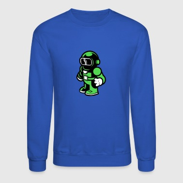 The Modern Spaceman - Crewneck Sweatshirt