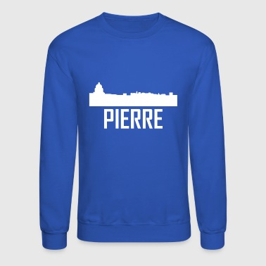 Pierre South Dakota City Skyline - Crewneck Sweatshirt