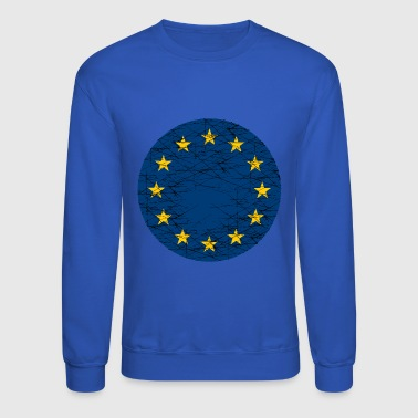 EU European Union Flag - Crewneck Sweatshirt