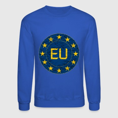 Flag of EU - Crewneck Sweatshirt