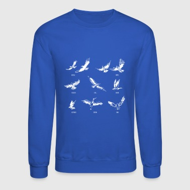 Birds Ornithology - Crewneck Sweatshirt