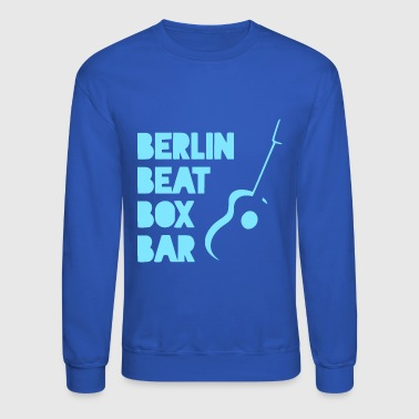 BERLIN BEAT BOX BAR - Crewneck Sweatshirt
