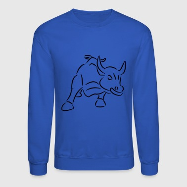 Bull Ride the Bull - Crewneck Sweatshirt