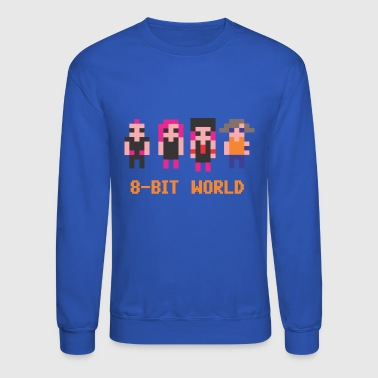 8-BIT WORLD - Crewneck Sweatshirt