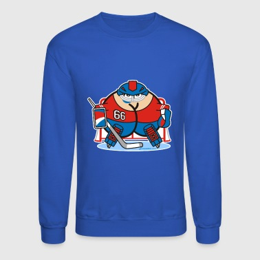 Assmex ice hockey goalie - Crewneck Sweatshirt