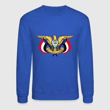 Emblem of Yemen svg - Crewneck Sweatshirt