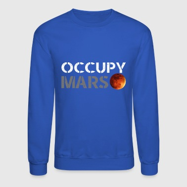 occupy mars - Crewneck Sweatshirt