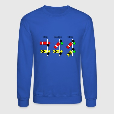Railway Signs - Crewneck Sweatshirt