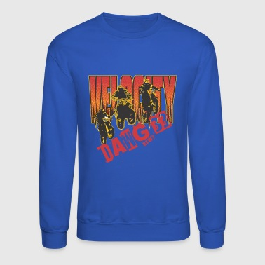 Welocity motocycle band - Crewneck Sweatshirt