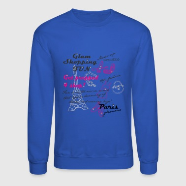 Paris glamour - Crewneck Sweatshirt