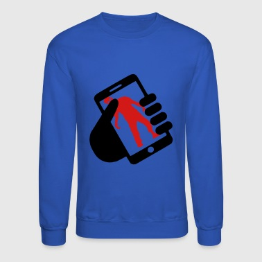 smart phone z - Crewneck Sweatshirt