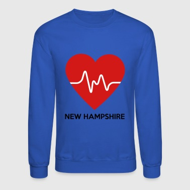 Heart New Hampshire - Crewneck Sweatshirt