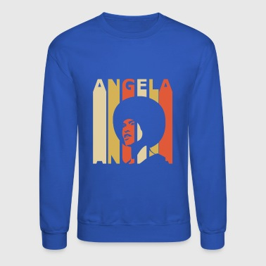 Retro Angela - Crewneck Sweatshirt