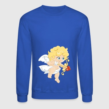 Cute Cupido Love Shirt Gift Idea for men and women - Crewneck Sweatshirt