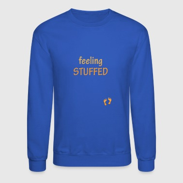 feeling stuffed - Crewneck Sweatshirt