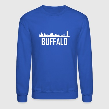 Buffalo New York City Skyline - Crewneck Sweatshirt