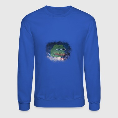 Pepe Space Pepe - Crewneck Sweatshirt