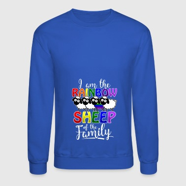 Rainbow Sheep Gay Pride - Crewneck Sweatshirt