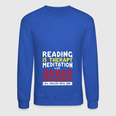 Reading - Crewneck Sweatshirt