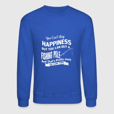 Pole Vault You can't buy happiness but you can buy a pole - Crewneck Sweatshirt