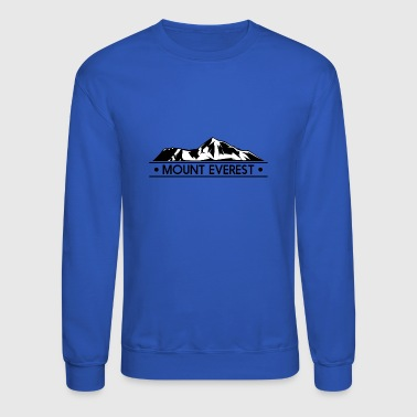 Mount mount everest - Crewneck Sweatshirt