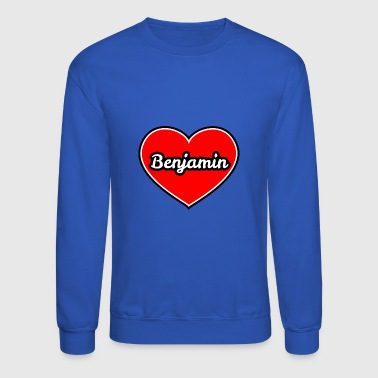 Cuore Benjamin in my heart - Crewneck Sweatshirt